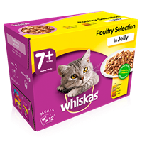 whiskas pouch 7+
